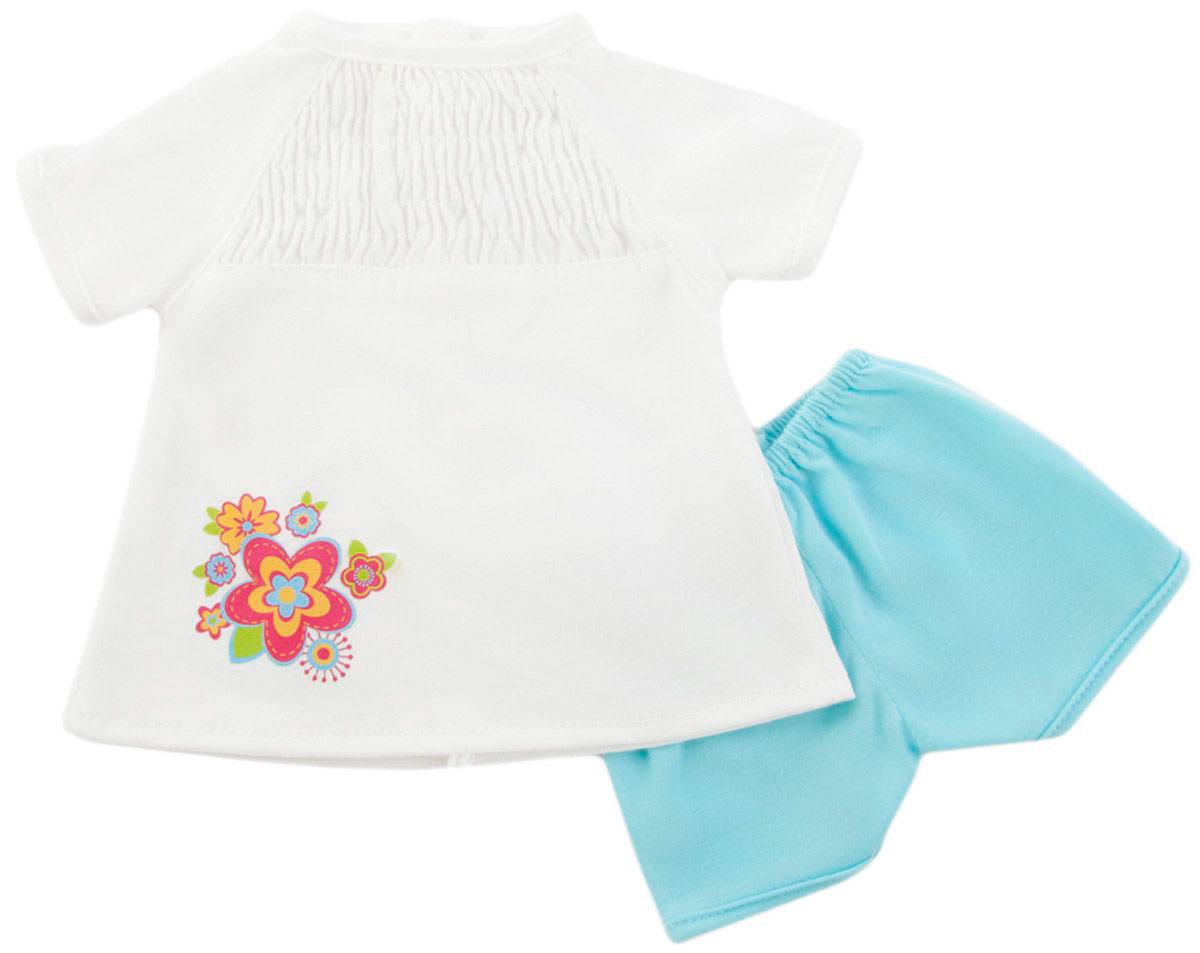 Одежда для куклы 38-43 см - кофточка и шортикиОдежда для кукол<br>Одежда для куклы 38-43 см - кофточка и шортики<br>