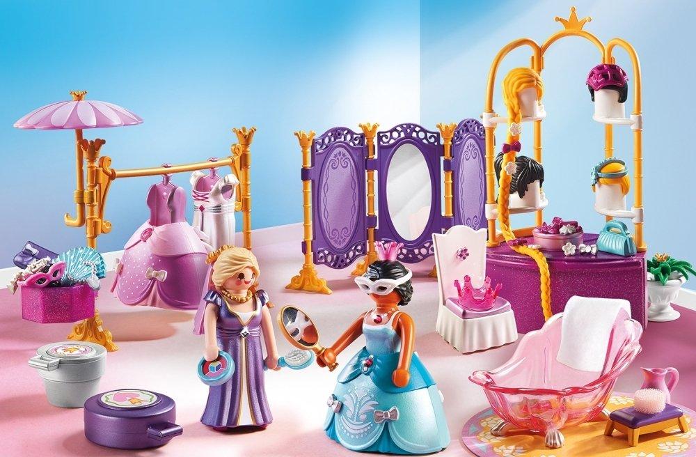Купить Игровой набор из серии Замок Принцессы: Гардеробная с салоном, Playmobil