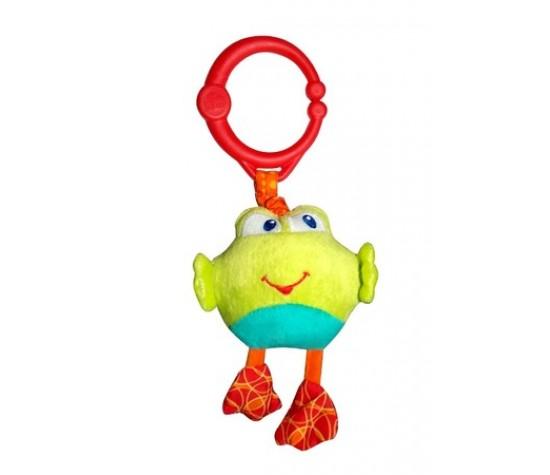 Развивающая игрушка  Дрожащий дружок , Лягушка New - Детские погремушки и подвесные игрушки на кроватку, артикул: 97354