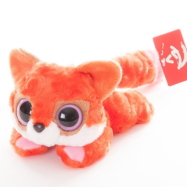 Купить Мягкая игрушка лисица красная лежачая из серии Юху и друзья, 16 см., Aurora