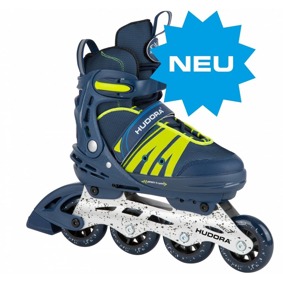 Ролики Hudora - Inline Skates Comfort, deep blue, размер 29-34 фото