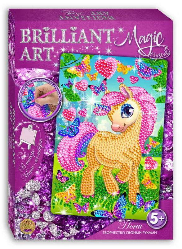 Мозаика со стразами Magic Crystal Пони по цене 286