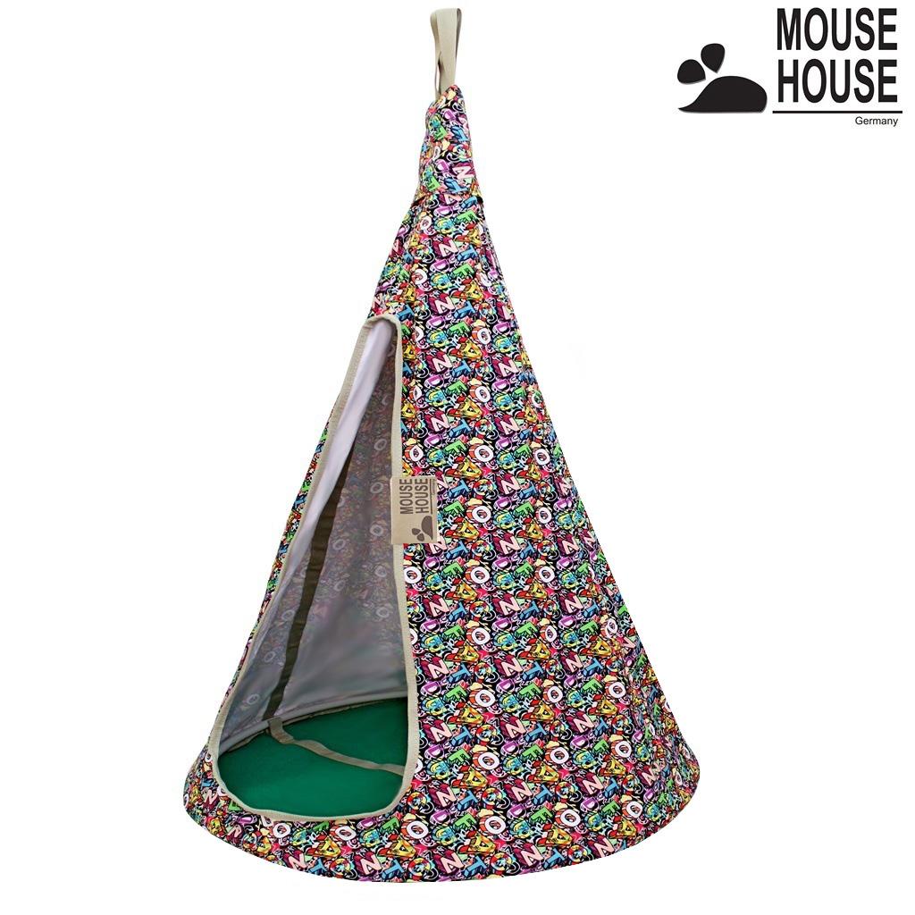 80-04 Гамак Mouse House - Буквы разноцветные, диаметр 80 смДомики-палатки<br>80-04 Гамак Mouse House - Буквы разноцветные, диаметр 80 см<br>
