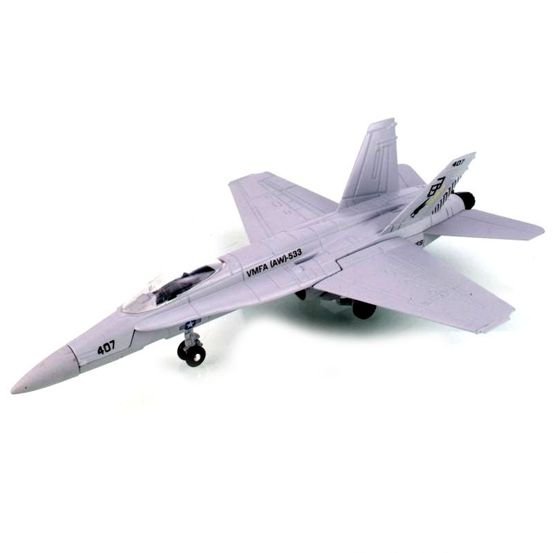 Коллекционная модель - Штурмовик F/A-18 Hornet, 1/72 от Toyway