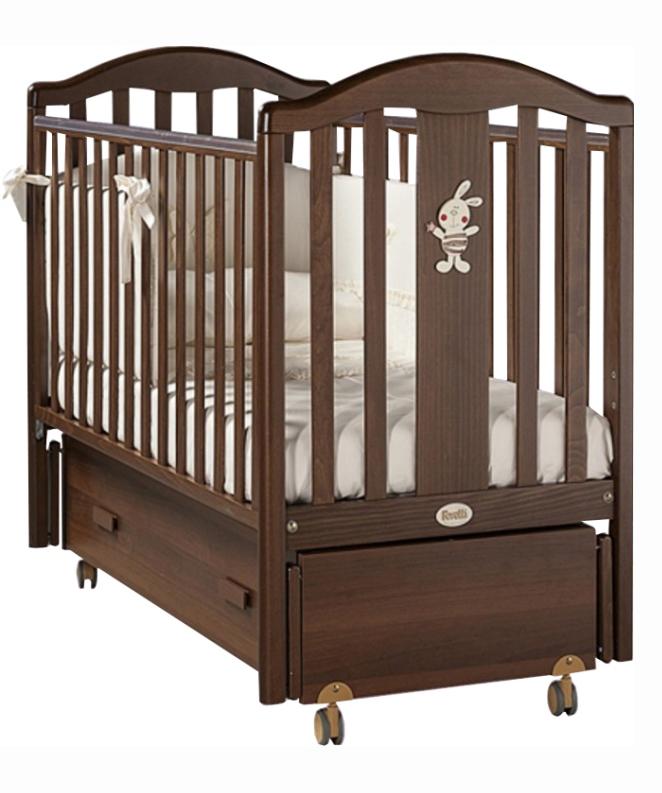 Кровать детская Fms Ricordo NoceДетские кровати и мягкая мебель<br>Кровать детская Fms Ricordo Noce<br>