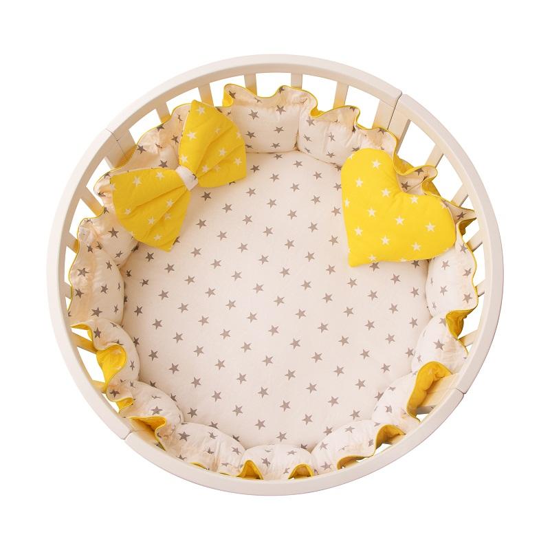Подушка – Ватрушка, желтый