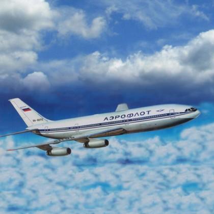 Подарочный набор. Модель для склеивания  Пассажирский Авиалайнер ИЛ-86 - Модели для склеивания, артикул: 98653