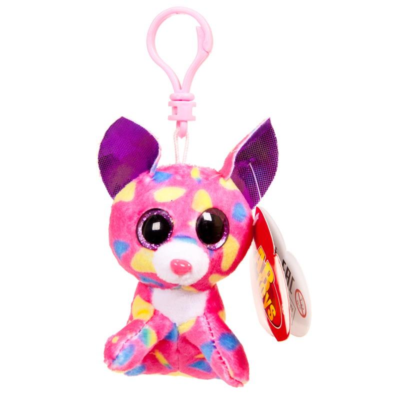 Купить Мягкая игрушка на брелоке – Котенок, розовый, 8 см, ABtoys