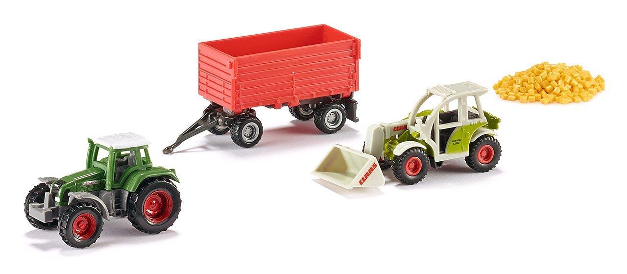 Игровой набор сельхозтехники с прицепом и зерномИгрушечные тракторы<br>Игровой набор сельхозтехники с прицепом и зерном<br>