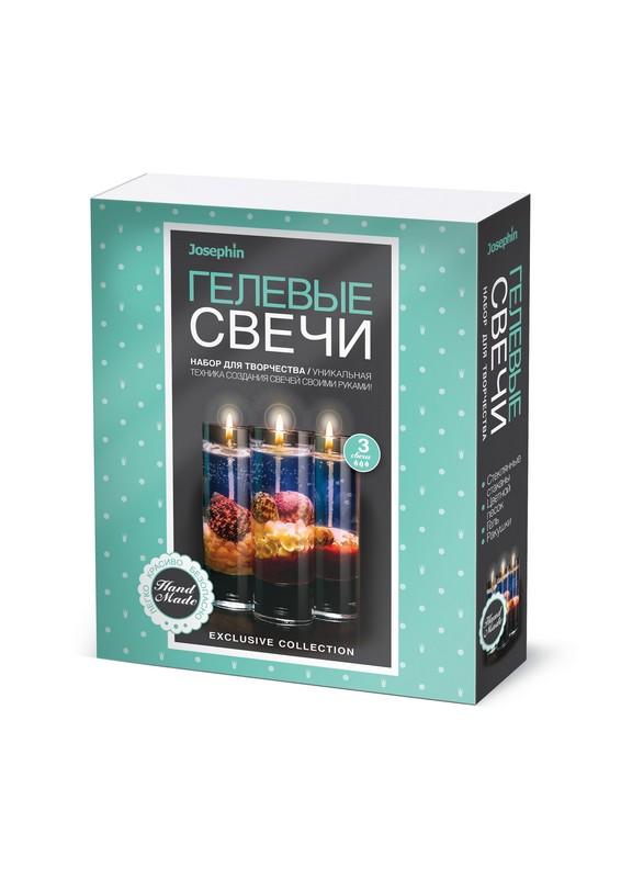 Купить Свечи гелевые Josephin - Набор №2, с ракушками, Фантазёр