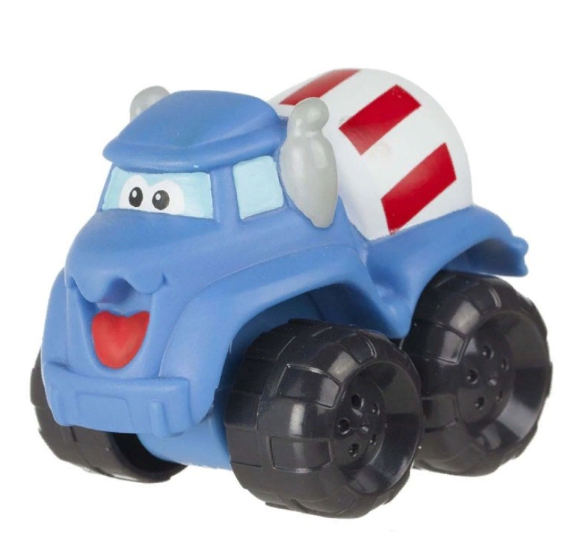 Машинка Chuck &amp; Friends - Бетономешалка Харди, 5 смМашинки для малышей<br>Машинка Chuck &amp; Friends - Бетономешалка Харди, 5 см<br>