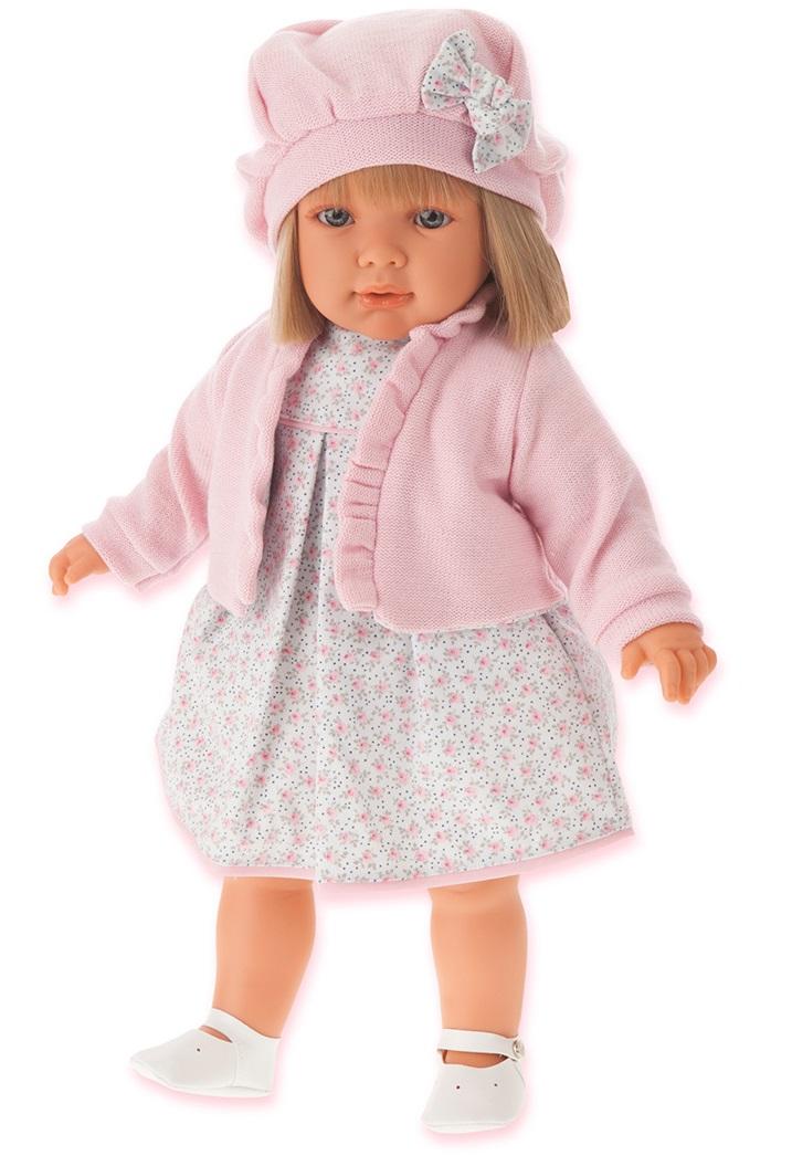 Кукла Аделина в розовом, 55 смКуклы Антонио Хуан (Antonio Juan Munecas)<br>Кукла Аделина в розовом, 55 см<br>