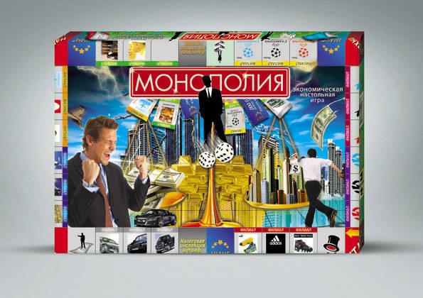 Настольная игра - Монополия малаяМонополия<br>Настольная игра - Монополия малая<br>
