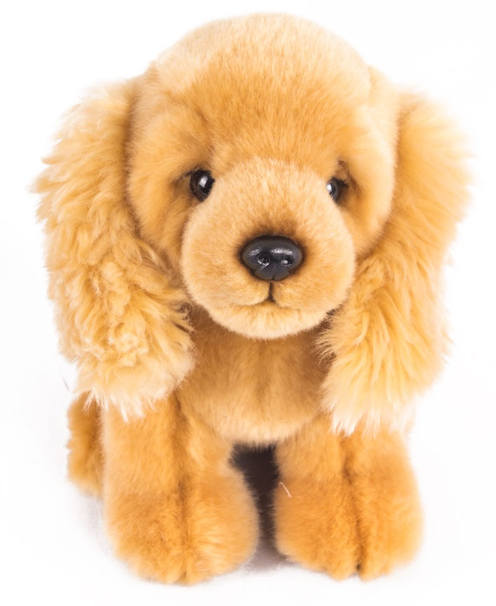 Мягкая игрушка - Щенок Спаниель, 18 см.Собаки<br>Мягкая игрушка - Щенок Спаниель, 18 см.<br>