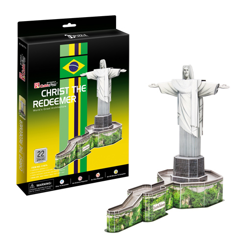 3D пазл Стату Христа ИскупителПазлы объёмные 3D<br>3D пазл Стату Христа Искупител<br>