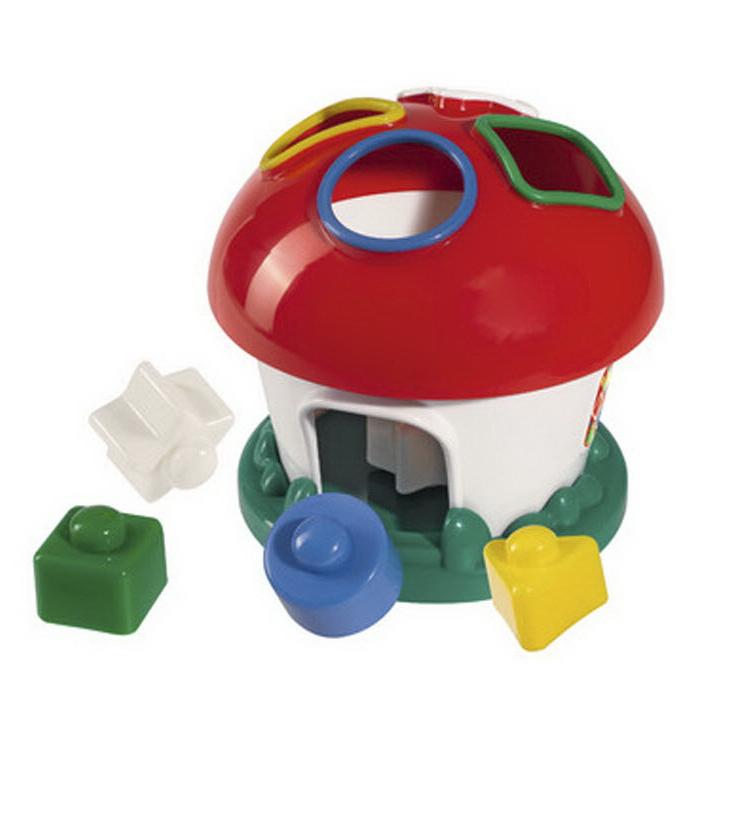 Развивающая игрушка - ГрибокСортеры, пирамидки<br>Развивающая игрушка - Грибок<br>