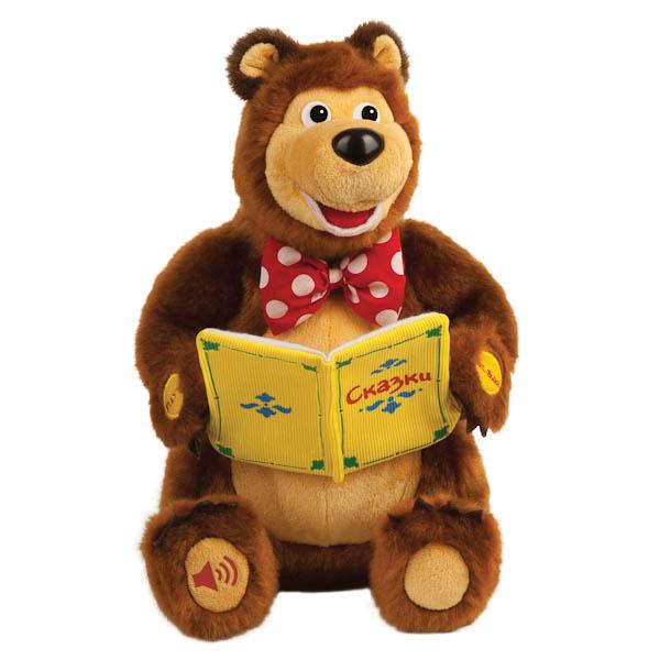 Мягкая игрушка Мишка из мультфильма «Маша и медведь», рассказывает 10 сказокМаша и медведь игрушки<br>Мягкая игрушка Мишка из мультфильма «Маша и медведь», рассказывает 10 сказок<br>