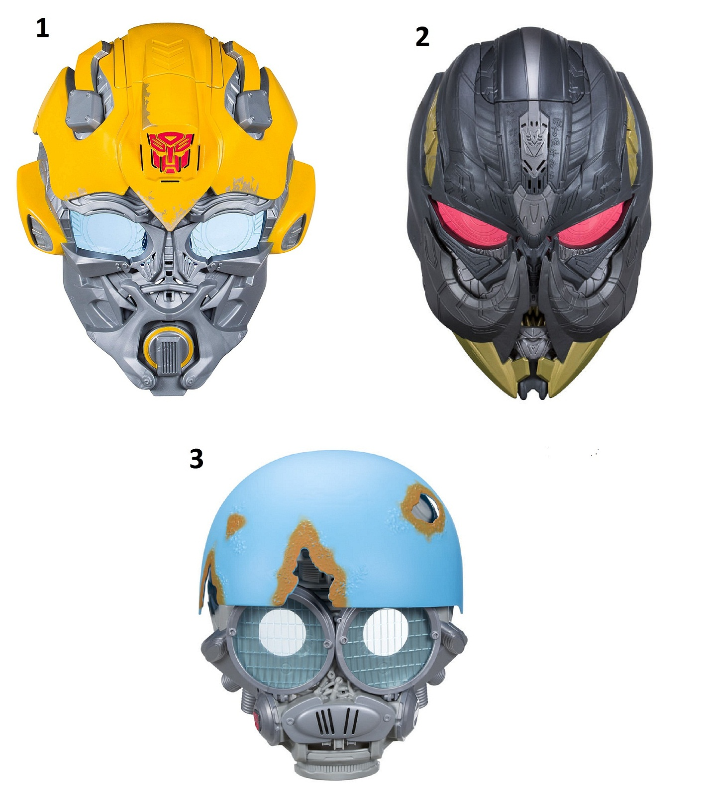 Transformers. Электронная маска - Трансформеры