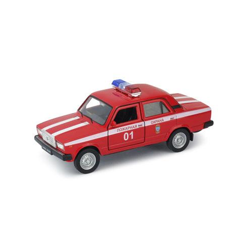 Модель машины LADA 2107 Пожарная ОхранаLADA<br>Модель машины LADA 2107 Пожарная Охрана<br>