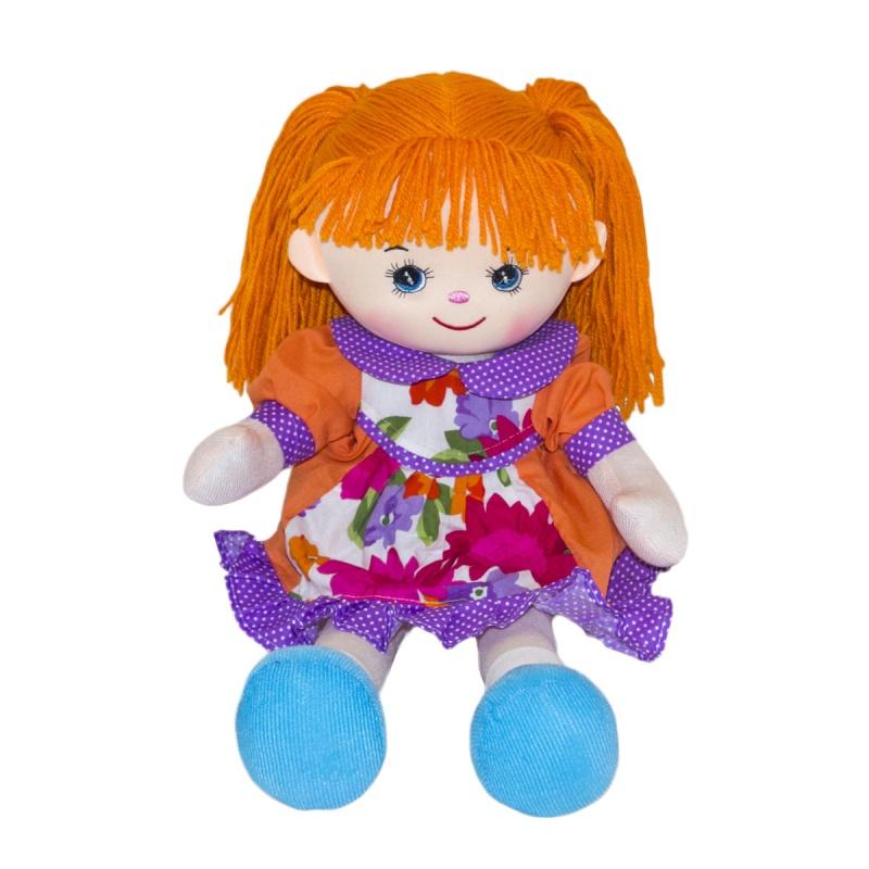 Мягкая кукла - Гвоздичка, 30 см.
