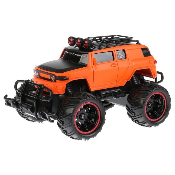 картинка Машинка на радиоуправлении – Джип Бигфут, оранжевый. Техно драйв от магазина Bebikam.ru