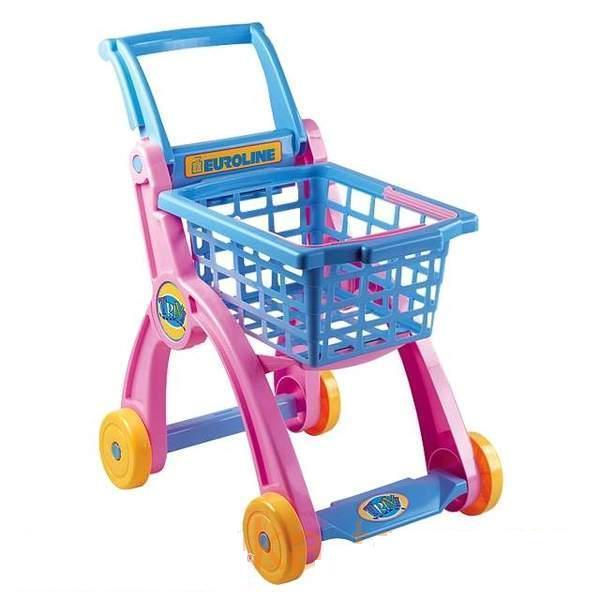 Тележка для магазина - Детская игрушка Касса. Магазин. Супермаркет, артикул: 18204