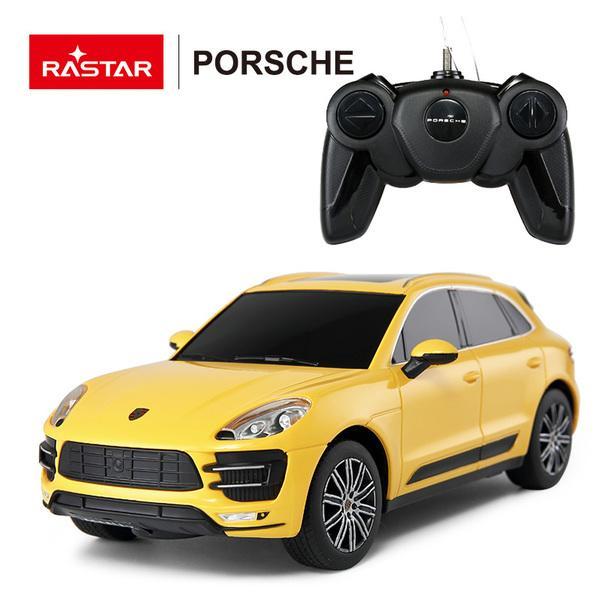 Купить Машина р/у 1:24 - Porsche Macan Turbo, цвет желтый, Rastar