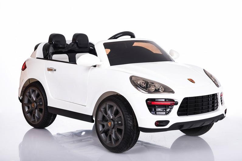 Электромобиль Porsche Cayenne белыйЭлектромобили, детские машины на аккумулторе<br>Электромобиль Porsche Cayenne белый<br>