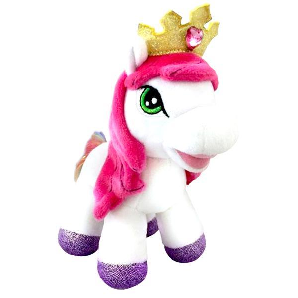 Мягкая игрушка Пони радуга, 17см - озвученная