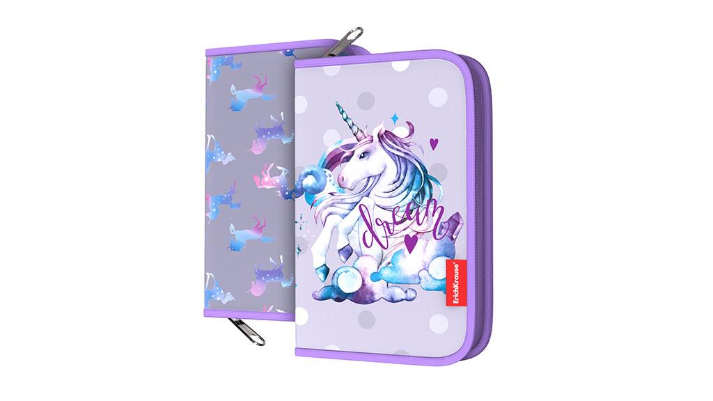 Пенал-книжка ErichKrause® - Dream Unicorn, без наполнения Erich Krause