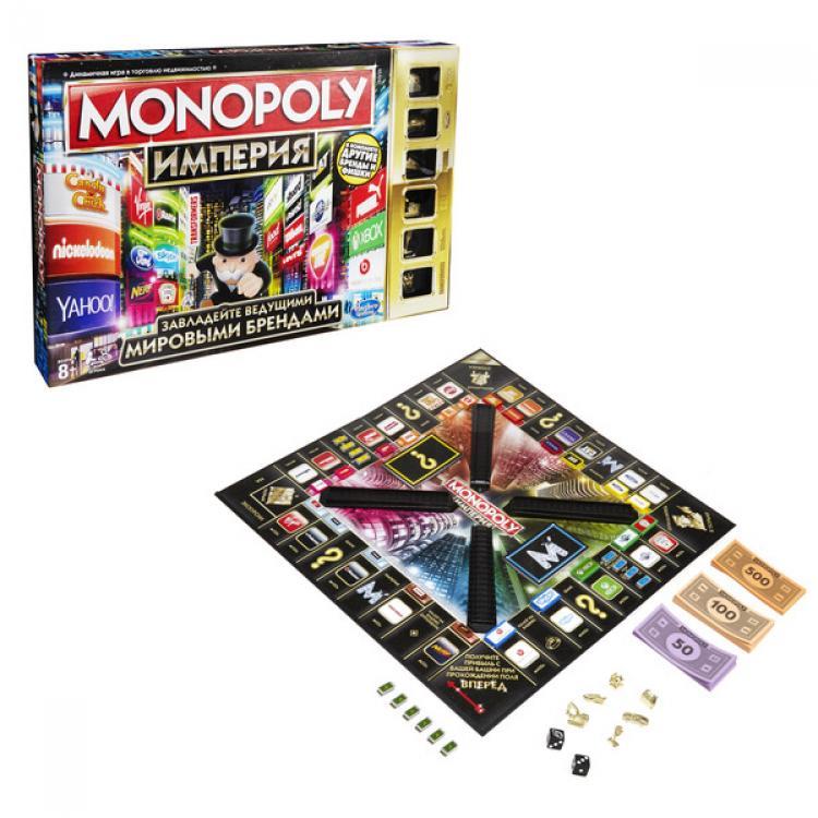 Games. Монополия Империя, обновленная - Монополия, артикул: 135174