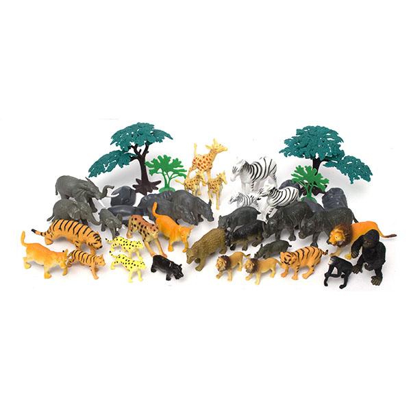 Игровой набор – Сафари, 40 предметовДикая природа (Wildlife)<br>Игровой набор – Сафари, 40 предметов<br>