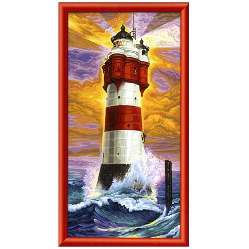 Раскраска картина МаякРаскраски по номерам Schipper<br>Раскраска картина Маяк<br>