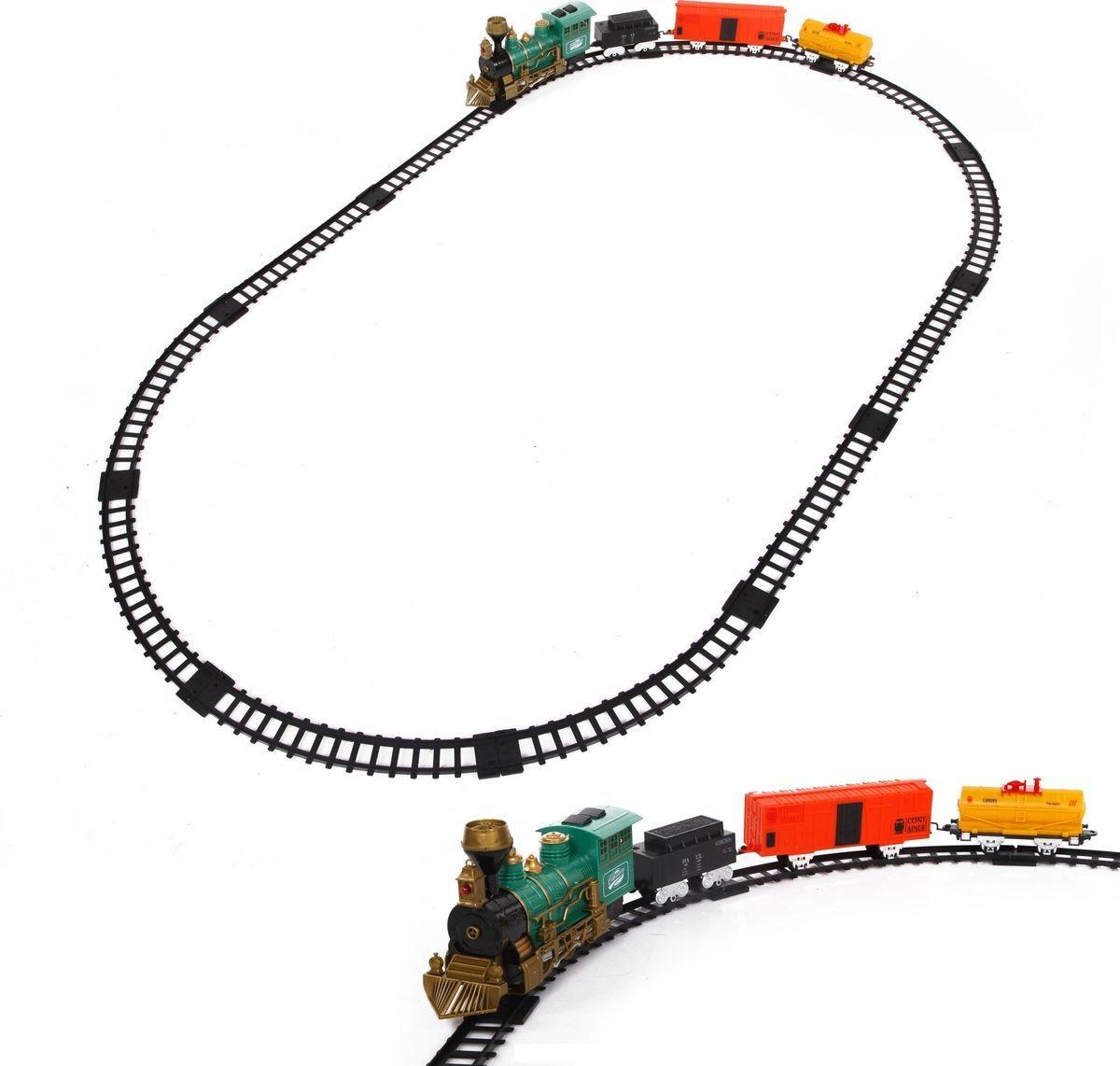 Железная дорога со световыми эффектами и дымом – Classic trainДетская железная дорога<br>Железная дорога со световыми эффектами и дымом – Classic train<br>