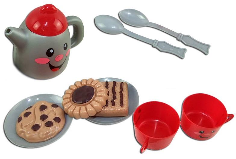 Набор посуды для чаепития, 10 предметов, серия «Помогаю Маме»Аксессуары и техника для детской кухни<br>Набор посуды для чаепития, 10 предметов, серия «Помогаю Маме»<br>