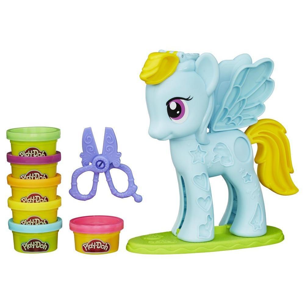 Купить Игровой набор Стильный салон Рейнбоу Дэш Play-Doh, Hasbro