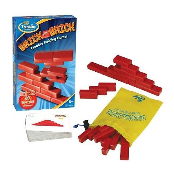 Настольная игра-головоломка Кирпичики Brick by brickГоловоломки<br>Настольная игра-головоломка Кирпичики Brick by brick<br>