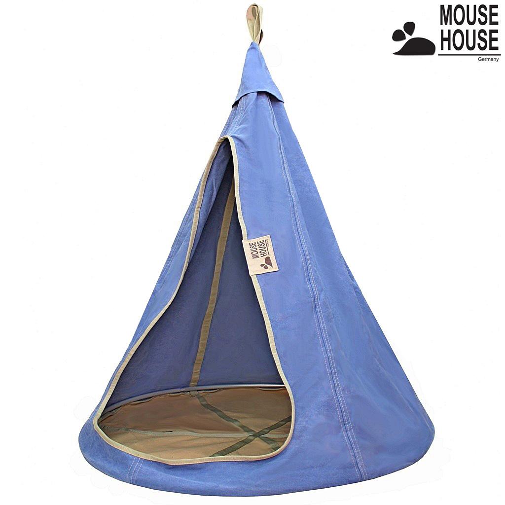 140-06 Гамак Mouse House - Джинс светлый, диаметр 140 смДомики-палатки<br>140-06 Гамак Mouse House - Джинс светлый, диаметр 140 см<br>