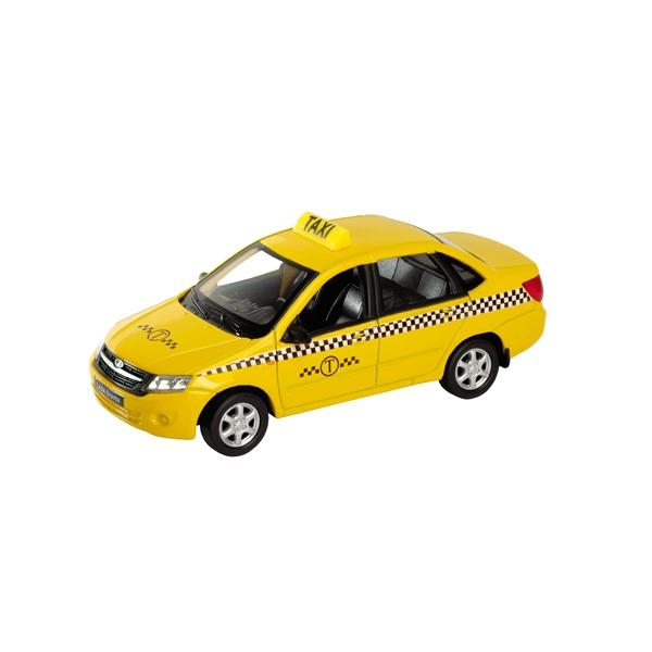 Модель машины 1:34-39 LADA Granta ТаксиLADA<br>Модель машины 1:34-39 LADA Granta Такси<br>