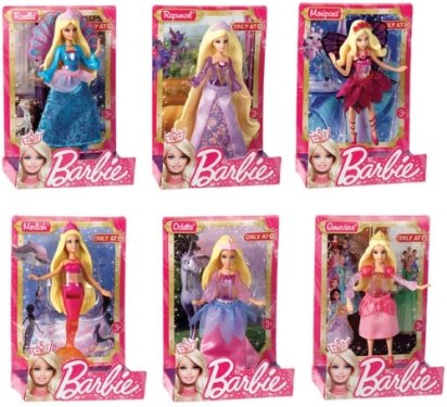 Mattel Barbie. Сказочные мини-куклыКуклы Barbie (Барби)<br>Mattel Barbie. Сказочные мини-куклы<br>