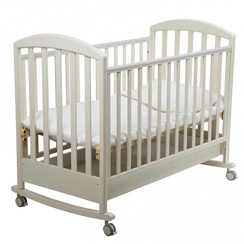 Детская кроватка-качалка Джованни, слоновая костьДетские кровати и мягкая мебель<br>Детская кроватка-качалка Джованни, слоновая кость<br>
