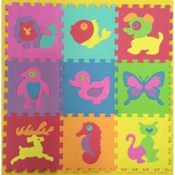 Коврик-пазл Союзмультфильм - Животные, Играем вместе  - купить со скидкой