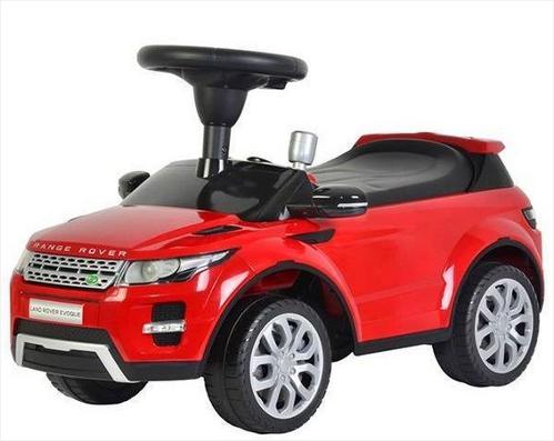 Машинка-каталка – Range Rover Evoque, красный, звукМашинки-каталки для детей<br>Машинка-каталка – Range Rover Evoque, красный, звук<br>