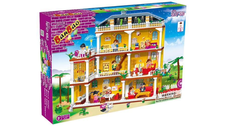 Конструктор домик для куклы