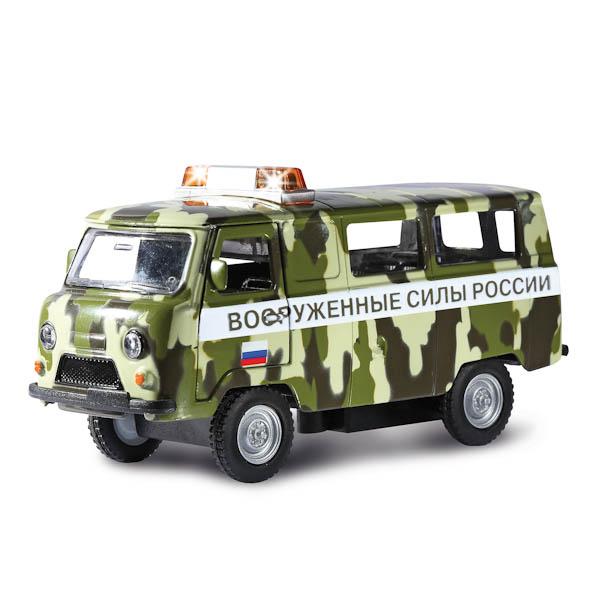 Инерционная машина УАЗ- 396259 ВС РФ, свет, звукВоенная техника<br>Инерционная машина УАЗ- 396259 ВС РФ, свет, звук<br>