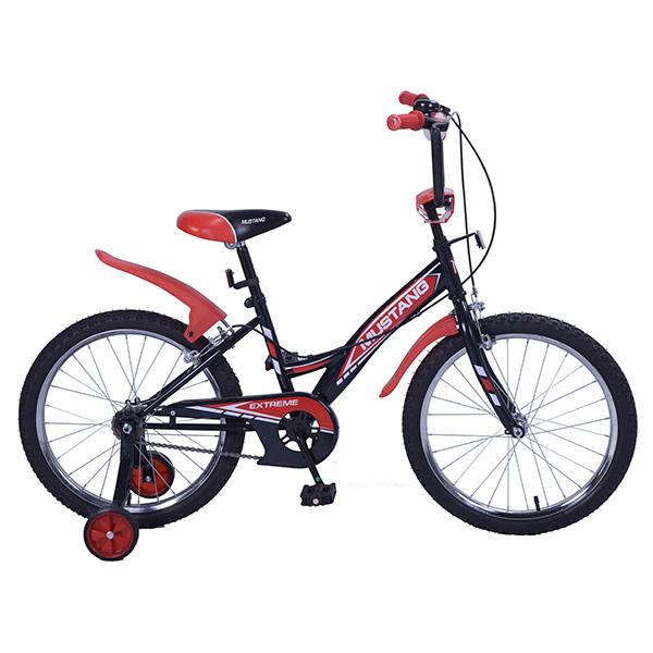 Детский велосипед – Mustang Extreme, 20, GW-тип, черно-красныйВелосипеды детские<br>Детский велосипед – Mustang Extreme, 20, GW-тип, черно-красный<br>