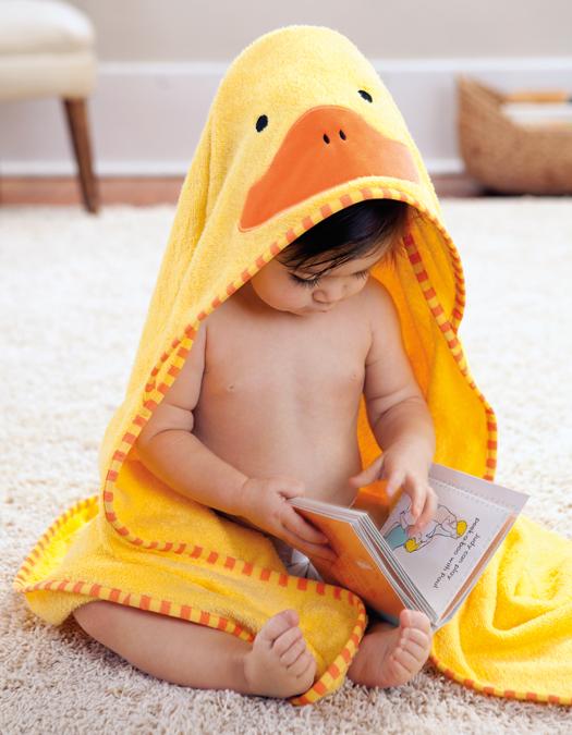 Полотенце детское УтенокПолотенца и халаты<br>Полотенце детское Утенок<br>