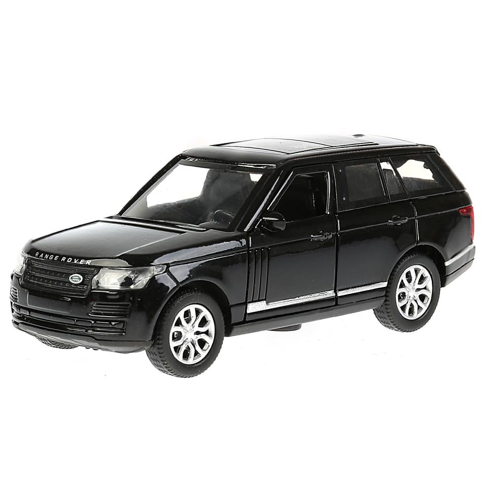 Купить Металлическая инерционная машина - Range Rover Vogue, черный, 12 см, Технопарк