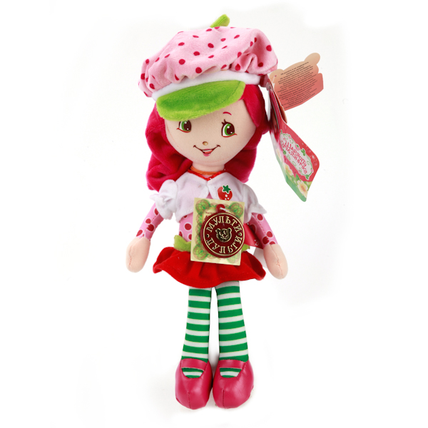 Мягкая кукла – Земляничка, 25 смГоворящие игрушки<br>Мягкая кукла – Земляничка, 25 см<br>