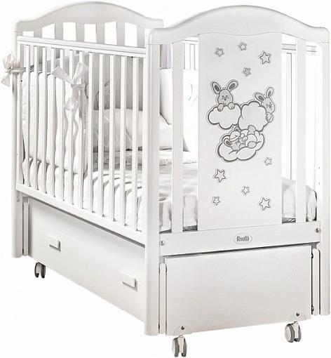 Кровать детская - Romance Swing, BiancoДетские кровати и мягкая мебель<br>Кровать детская - Romance Swing, Bianco<br>